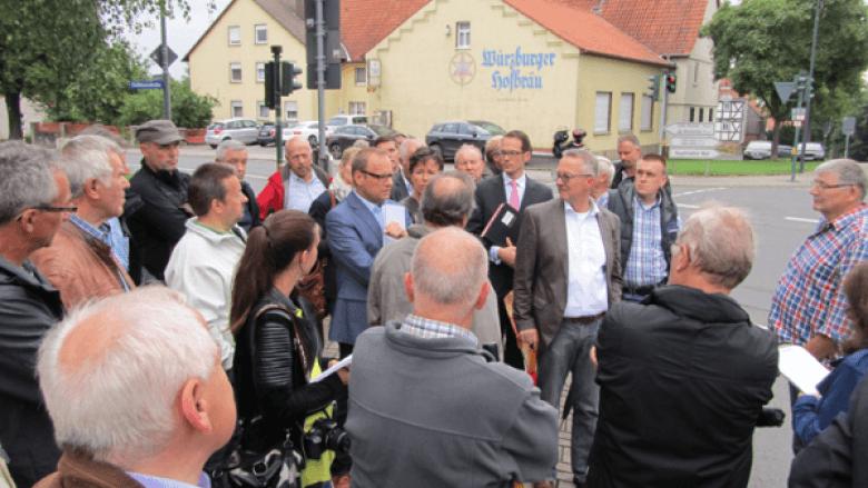 Stadtteilbesuche der CDU-Stadtverordnetenfraktion in 2017
